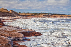 Cavendish Beach, Prince Edward Island Royalty Free Stock Photos