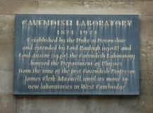 Cavendish laboratorium Zdjęcia Stock