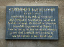 Cavendish Laboratory Stock Photos