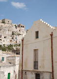 Caveoso Sassi in Matera Royalty Free Stock Image