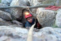 caver снаружи Стоковое фото RF