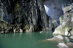 In Cavern Royalty Free Stock Photography