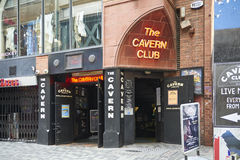 The Cavern Club entrance Royalty Free Stock Images