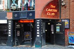 The Cavern Club, Liverpool. Royalty Free Stock Photo