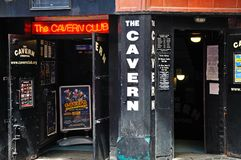 The Cavern Club, Liverpool. Royalty Free Stock Image