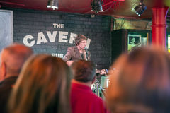The Cavern club in Liverpool Mathew Street Stock Images