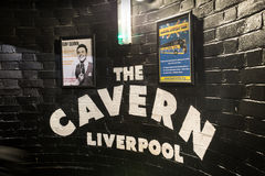 The Cavern Club Liverpool royalty free stock photography