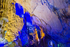Cavern in Guilin, China royalty free stock photos