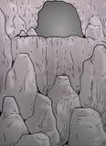 Cavern illustration Royalty Free Stock Image