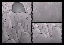 Cavern illustration Royalty Free Stock Images