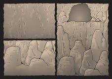 Cavern illustration Stock Images