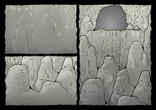 Cavern illustration Stock Images