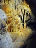 Cavern, Podziemne formacje zdjęcia royalty free