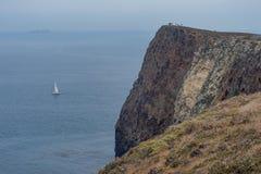 Cavern Point, Santa Cruz Island, Channel Islands National Park Stock Photos