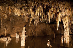 Cavern Reflections Royalty Free Stock Photo