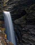 Cavern Waterfall in Watkins Glen State Park Stock Image