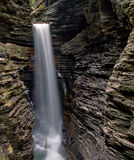 Cavern Waterfall in Watkins Glen State Park Royalty Free Stock Photos