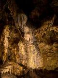 Cavern z kalcyt formacjami Obraz Royalty Free