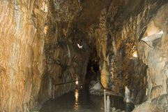 Caverna fotografia de stock