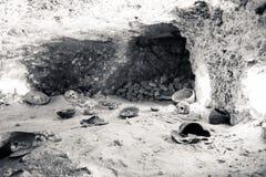 Caverna Fotografie Stock Libere da Diritti