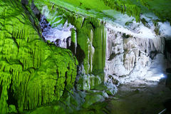 Caverna Fotografia Stock