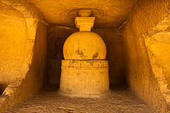 Caverna antica immagini stock libere da diritti