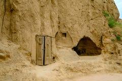 Caverna antica, la tomba del profeta Daniel immagine stock libera da diritti