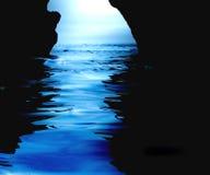 Caverna aquosa Fotos de Stock