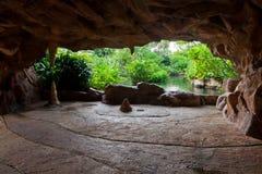 Caverna artificial imagens de stock royalty free