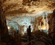 Caverna attiva Fotografie Stock