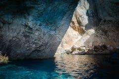 Caverna azul em Paxos Imagem de Stock