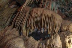 Caverna brilhante e colorida Abrskil Foto de Stock