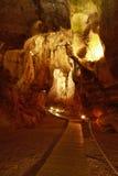 Caverna Calaveres a Benidoleig in Spagna Immagini Stock