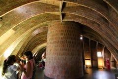 Caverna da casa de Pedrera fotografia de stock royalty free