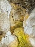 Caverna da dolomite imagem de stock