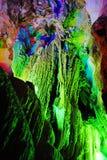 Caverna da estalactite Fotografia de Stock Royalty Free