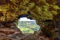 Caverna da janela - Porto Rico Imagem de Stock