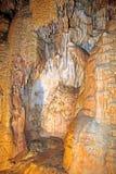 Caverna da liberdade, Eslováquia de Demanovska Fotos de Stock Royalty Free