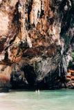 Caverna da princesa da caverna de Phra Nang Imagem de Stock