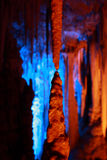 Caverna de Avshalom, Israel Imagem de Stock