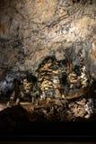 Caverna de Baradle, Hungria imagem de stock royalty free