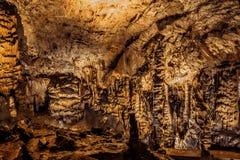 Caverna de Baradle no parque nacional de Aggtelek em Hungury imagem de stock royalty free
