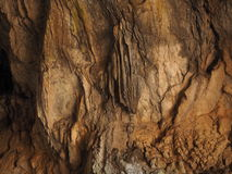 Caverna de Corykion - estalactites Delphi foto de stock royalty free
