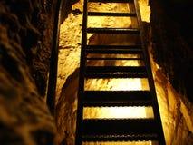Caverna de cristal Kobelwald ou dado Kristallhöhle Kobelwald Kristallhohle Kobelwald ou Kristallhoehle Kobelwald fotografia de stock