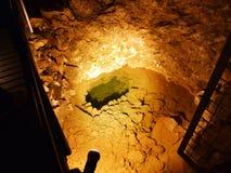 Caverna de cristal Kobelwald ou dado Kristallhöhle Kobelwald Kristallhohle Kobelwald ou Kristallhoehle Kobelwald fotos de stock
