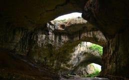 Caverna de Devetashka Fotos de Stock