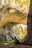Caverna de Devetashka no lovech Bulgária Imagens de Stock Royalty Free