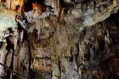 Caverna de Diros - mani - greece fotografia de stock royalty free