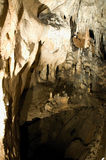 Caverna de Domica foto de stock royalty free