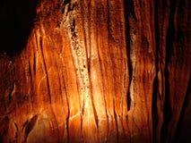 Caverna de Domica em Eslováquia Imagem de Stock